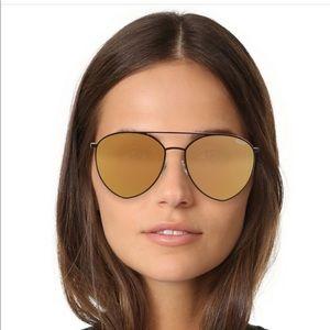 Quay x Jasmine Indio Sunglasses Black x Gold